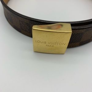 Louis Vuitton Accessories - 💯Auth Louis Vuitton DE Belt
